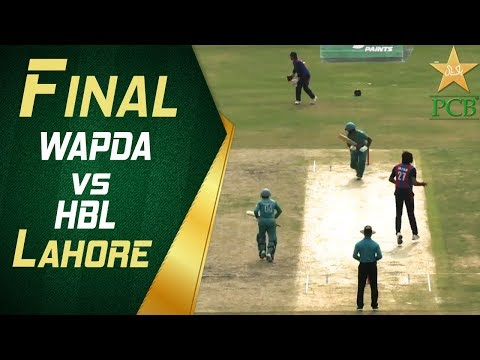 Final: WAPDA vs HBL, Gaddafi Stadium, Lahore