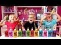 3 KLEJ SLIME CHALLENGE - 3 Colors of Glue Slime Challenge