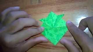 Origami Membuat Topi Samurai