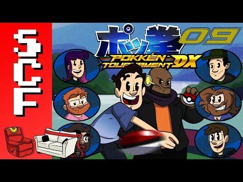 "Pokkén Tournament DX - (Part 09): ""Iceman's Delivery Service!"" Super Couch Fighters!"