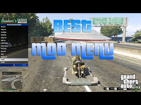GTA 5 Online: Mini Menyoo Mod Menu + DOWNLOAD (Patch 1 24