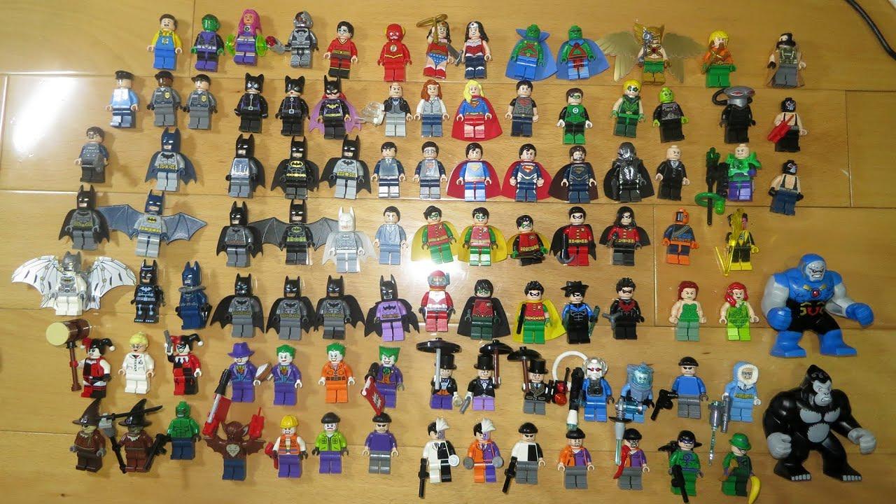 Lego DC SuperHeroes Minifigure collection 2015 07 06 - YouTube