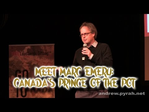 Meet Marc Emery: Canada's Prince of Pot - Amsterdam Cannabis