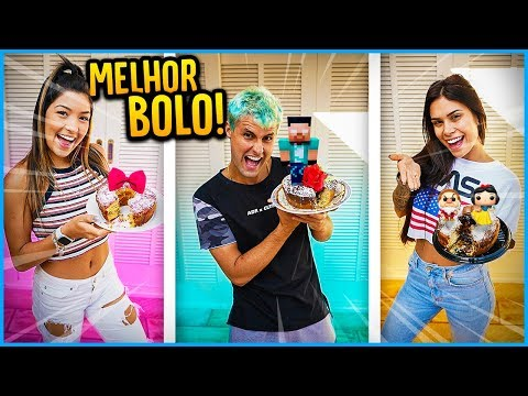 QUEM FAZ O MELHOR BOLO APENAS COM ITENS DA CASA!! [ REZENDE EVIL ]