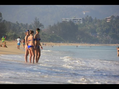 Centara Grand Beach Resort, Phuket, Thailand. Gray, Deb & Jess. GoPro 4