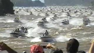Fiesta del Surubí Goya-Corrientes -Largada-