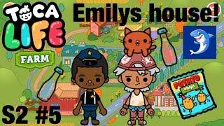 Toca life farm | Emilys House!? S2 #5