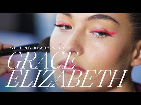 Victoria's Secret Model Grace Elizabeth Gets Ready for the 2019 CFDA Awards | ELLE