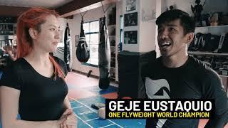 ONE Feature | Geje Eustaquio's Celebrity Boot Camp