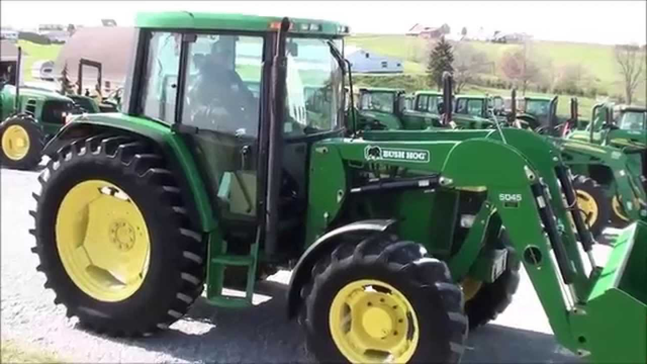 JD 6410 4x4 Tractor with Cab & Loader For Sale by Mast Tractor