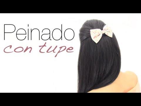 Peinados faciles con tupe