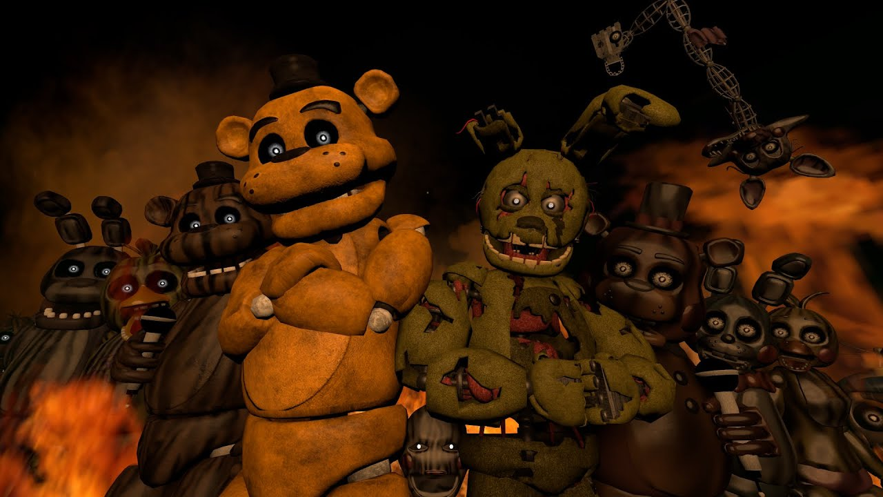another fnaf 3 official - photo #6