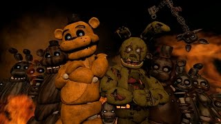 SFM FNAF Music Five Nights At Freddy s 3 Rap