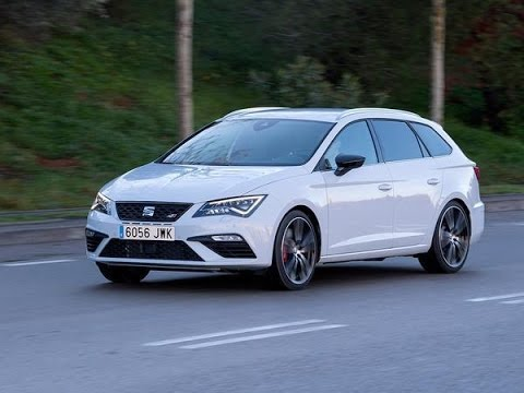 seat leon cupra 300 st 4drive exterior driving footage. Black Bedroom Furniture Sets. Home Design Ideas