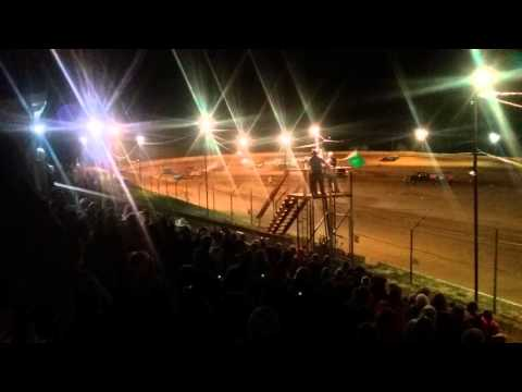 Indiana Late Model Feature part 2/2  Chandler Motor Speedway