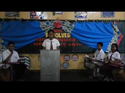 DEBATE: RESOLVE THAT CULTURAL DIVERSITY CONTRIBUTES TO UNITY
