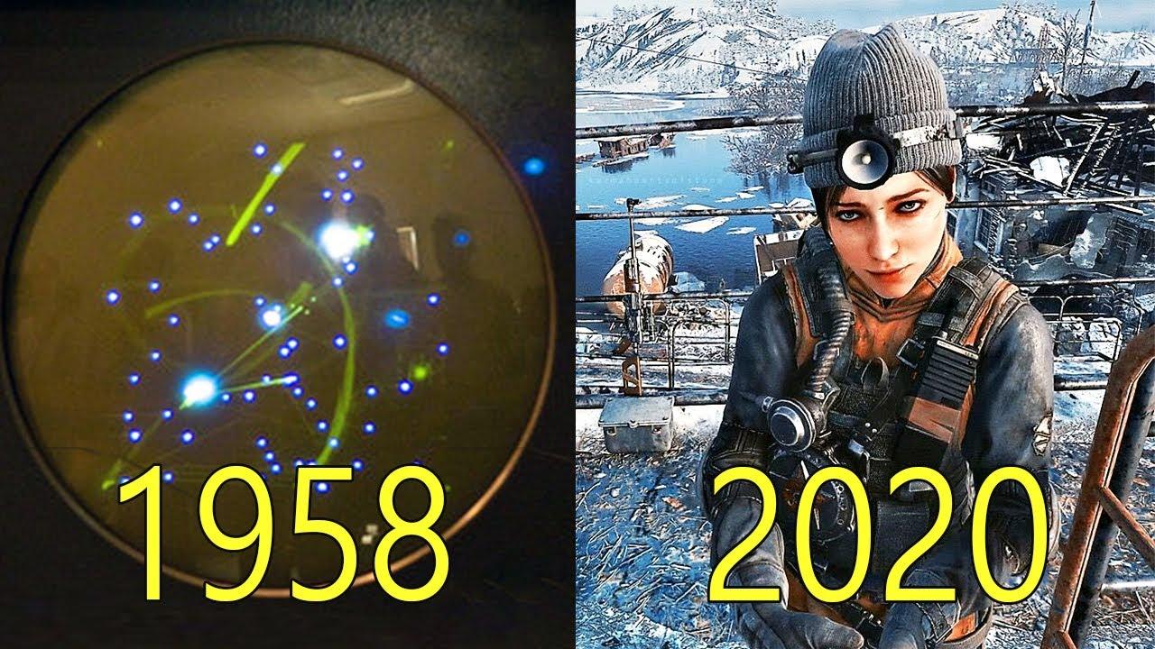 Evolution of Video Game Graphics 1958-2020 [4K]