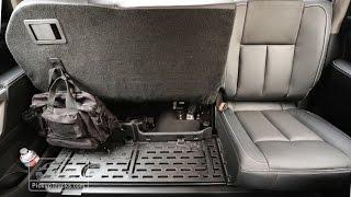 2017 Nissan Titan: Rear Seat Versatility