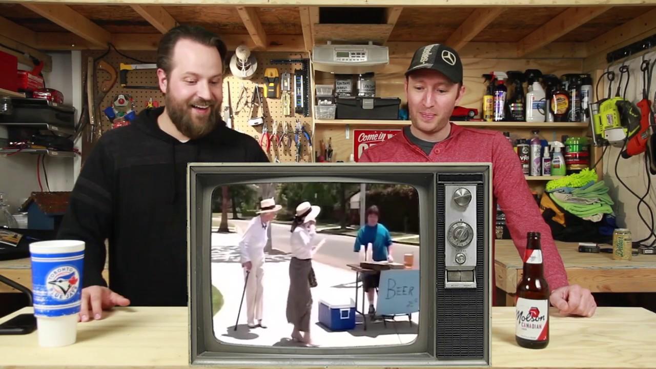 Download Hilarious Kid Selling Beer Reaction Video