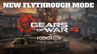 Gears Of War 4 - New Foundation Multiplayer Map After Beta - Flythrough Mode