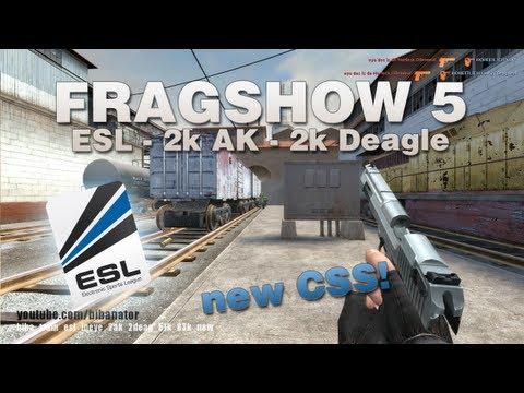 CSS   Fragshow 5 - lucky and random ESL frags
