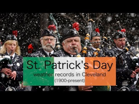 St. Patrick's Day Parade Weather Records In Cleveland (1900-present)