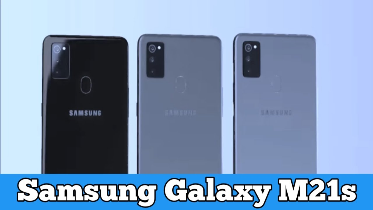 Samsung Galaxy M21s : Specification(2020) - YouTube