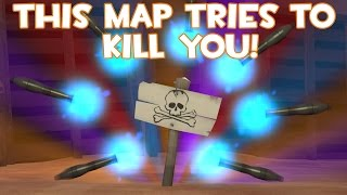 Repeat youtube video TF2: Dustbowl but everything tries to kill you (cp_dust_joking)