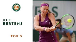 Kiki Bertens - TOP 5 | Roland Garros 2018