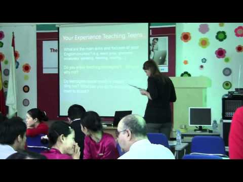 Workshop on Effective Teaching of Solutions Textbooks at The Asian International School (1)