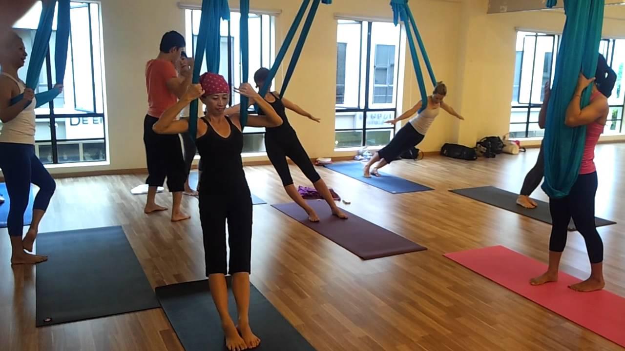 Fly yoga aravind studio kuala lumpur youtube