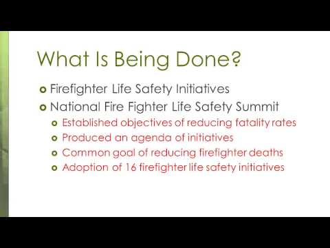 Chapter 1 Introduction to Emergency Services Occupational Safety and Health