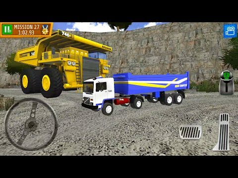 Quarry Driver 3 Giant Trucks - Dump Truck - Android Gamepplay FHD