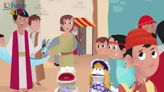 O FURO NO TETO - O paralítico | SHALOM KIDS