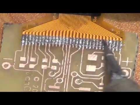 Oled Display soldering