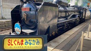 [車窓]上越線[D51 498]+[12系客車]臨時快速「SLぐんまみなかみ」水上→高崎