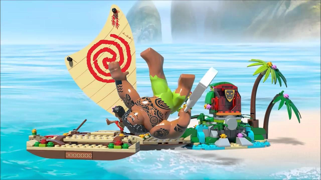 Smyths Toys LEGO Disney Moanas Ocean Voyage 41150 YouTube
