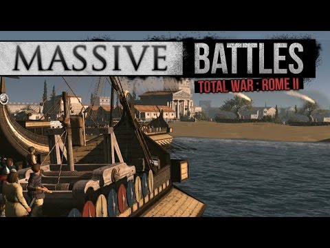 Naval Assault of Athens (Massive Battles)