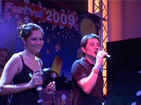 Loy Krathong (Singapore) 2009 Singing (2) [Volunteer Singer - Boom]