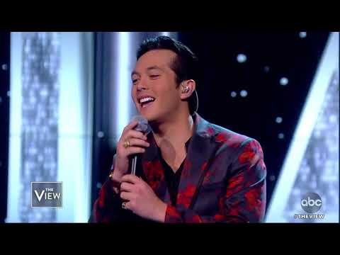 """Laine Hardy Performs New Song """"Flame"""" 