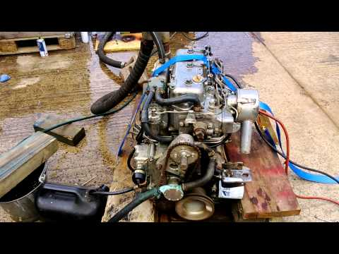 Yanmar 3QM30 30hp Marine Diesel Engine