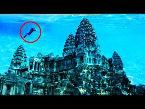 Amazing Lost UNDERWATER Cities Discovered!