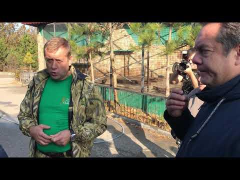 Экскурсия Олега Зудкова для Н.Н.Платошкина по парку