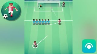 Tiny Striker: World Football - Gameplay Trailer (iOS, Android)