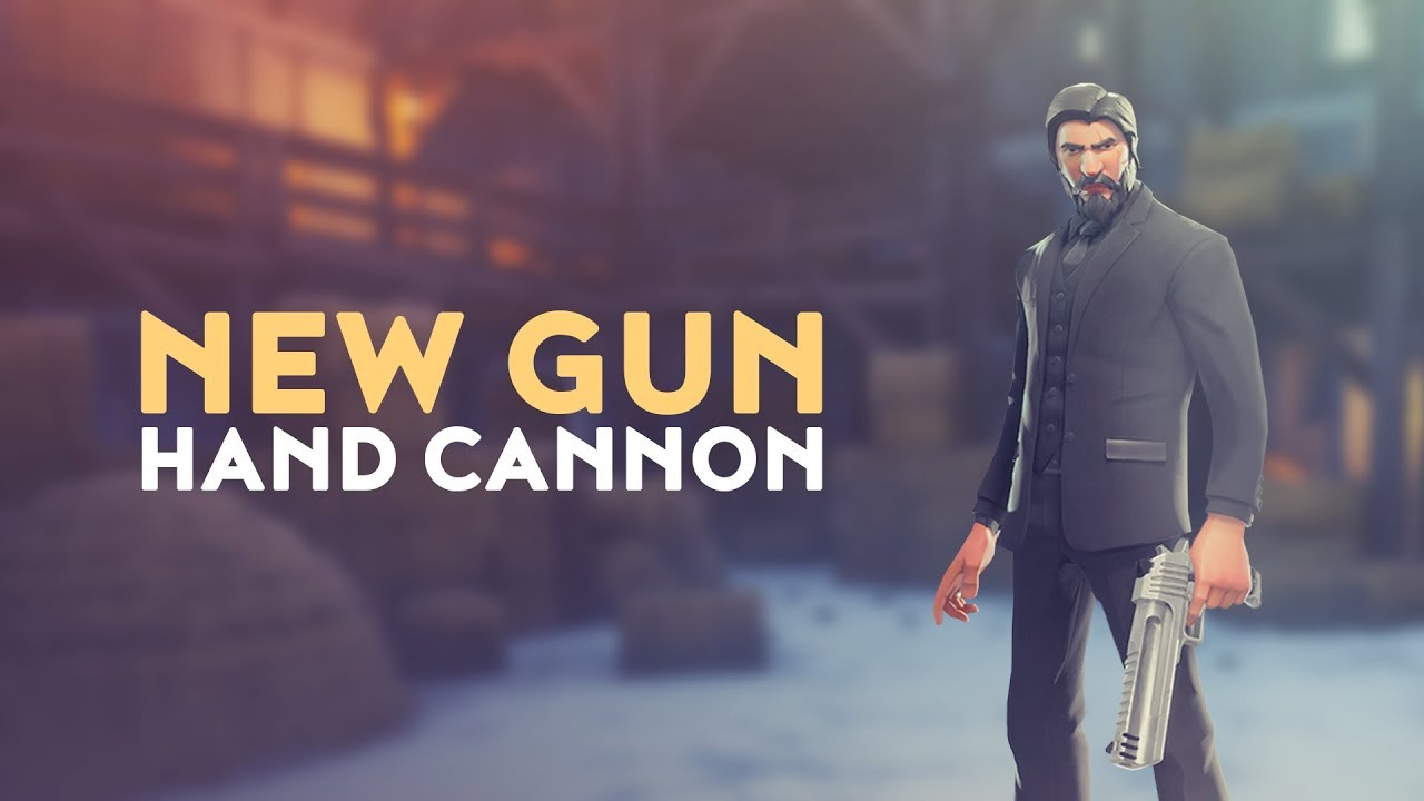 New Weapon Hand Cannon Fortnite Battle Royale