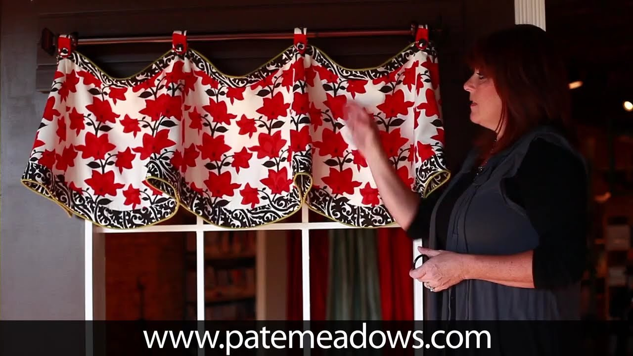Claudine Valance Sewing Pattern Youtube