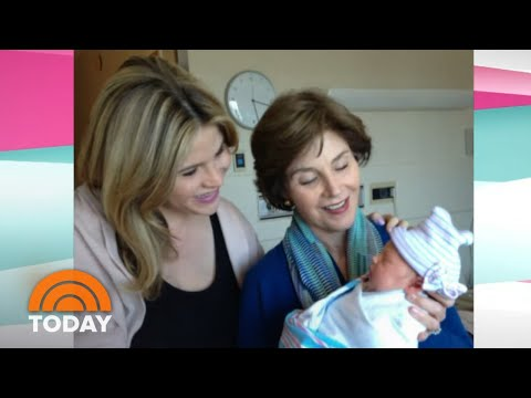 Laura Bush Says She And George W. Bush Are 'Thrilled' About 3rd Grandchild | TODAY