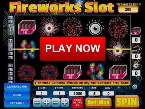 Fireworks Slot Machine At FreeSlots4U.com