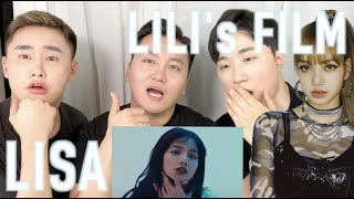ENG) BLACKPINK 리사 리액션 FAN BOYS Korean boys react to LILI'S FILM #1-#4 LISA DANCE PERFORMANCE
