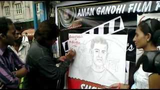 Blood Portraits of Amir Khan